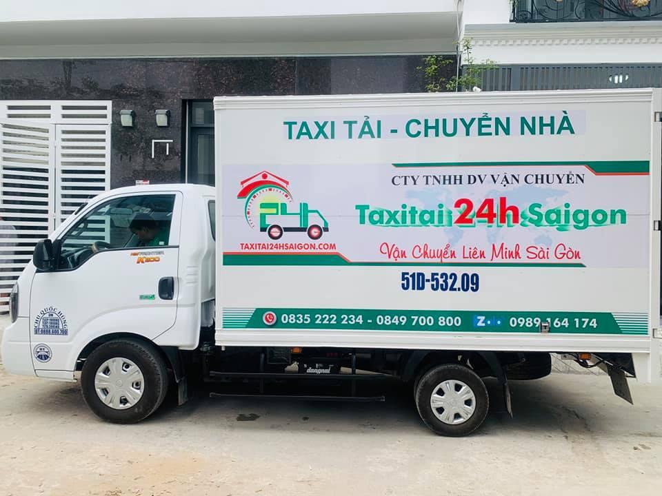 Giá thuê xe tải chở hàng đi tỉnh taxitai24h