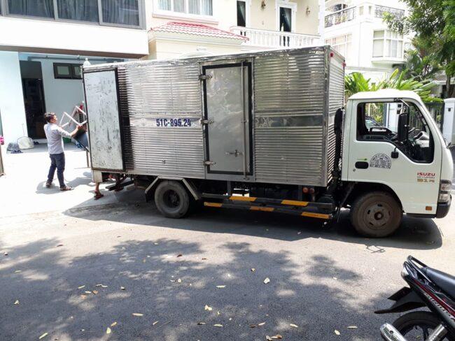 xe tải chở hàng 24h sài gòn