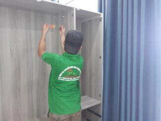 Tháo lắp tủ áo khi vận chuyển