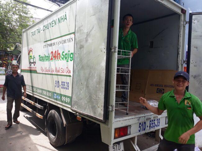 Liên hệ Taxi tải 24h để được tư vấn dịch vụ chuyển nhà trọn gói miễn phí