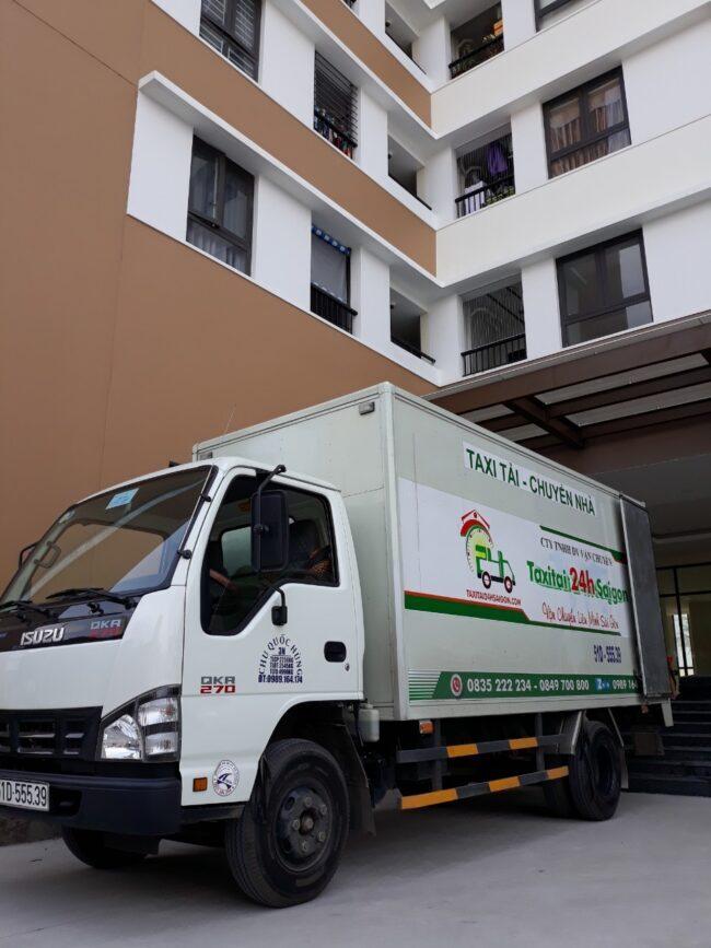 Xe tải 2 tấn cho thuê chuyển nhà