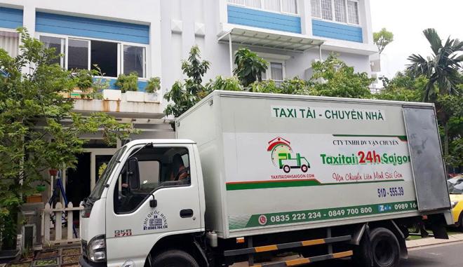 Taxi tải 24h Sài Gòn - đơn vị cung cấp dịch vụ hàng đầu