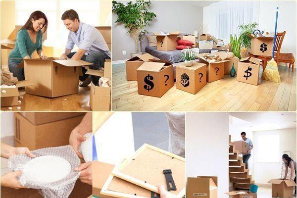Kinh nghiệm dọn đồ chuyển nhà: nhanh chóng, đơn giản và hiệu quả