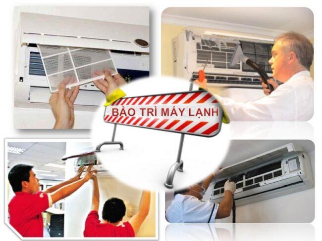 Tháo lắp máy lạnh chuyên nghiệp tại quận 12