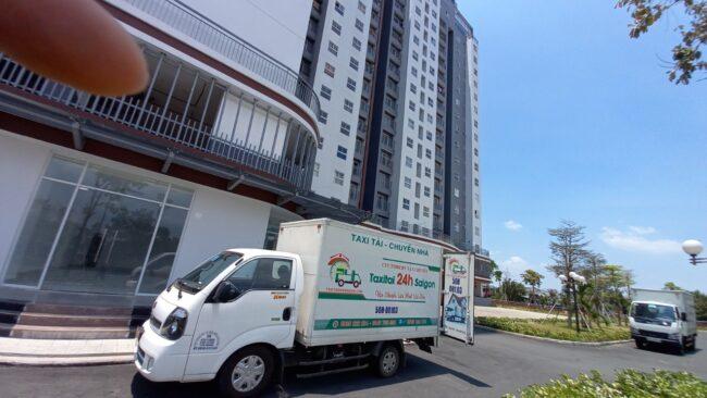 Cho thuê xe tải dọn nhà chung cư