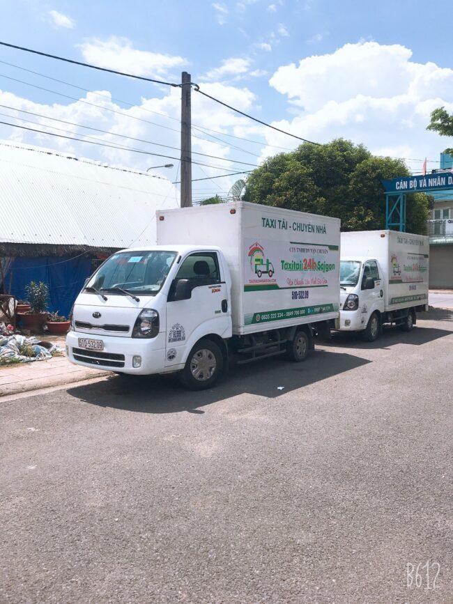 Xe tải chở thuê 24h