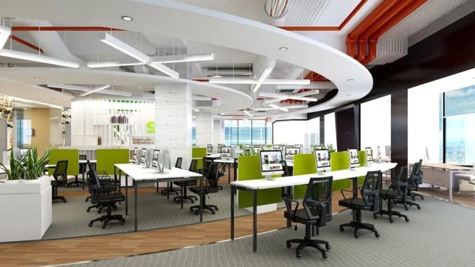 Chú ý đến ánh sáng khi thiết kế nội thất văn phòng