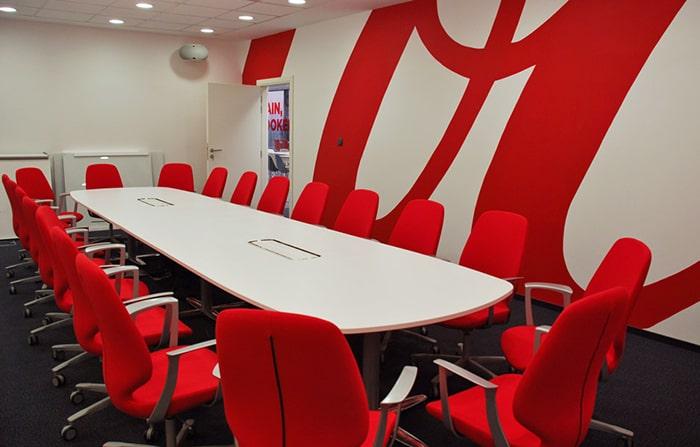 màu sắc trong thiết kế nội thất văn phòng