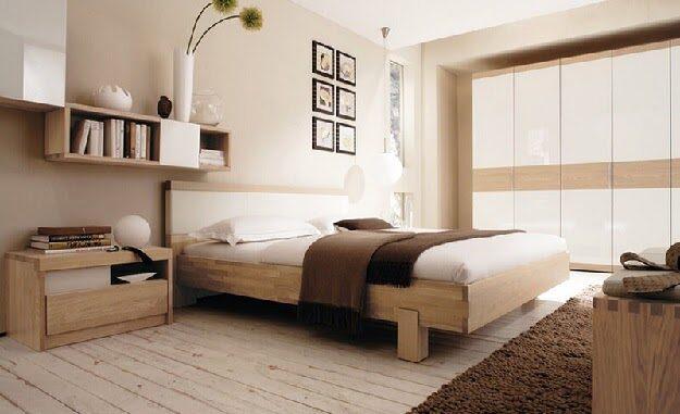 Mẫu thiết kế nội thất của phòng ngủ theo phong cách hiện đại