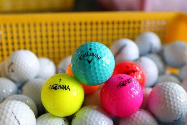 Bán bóng golf cũ cho người tập chơi chỉ từ 4k